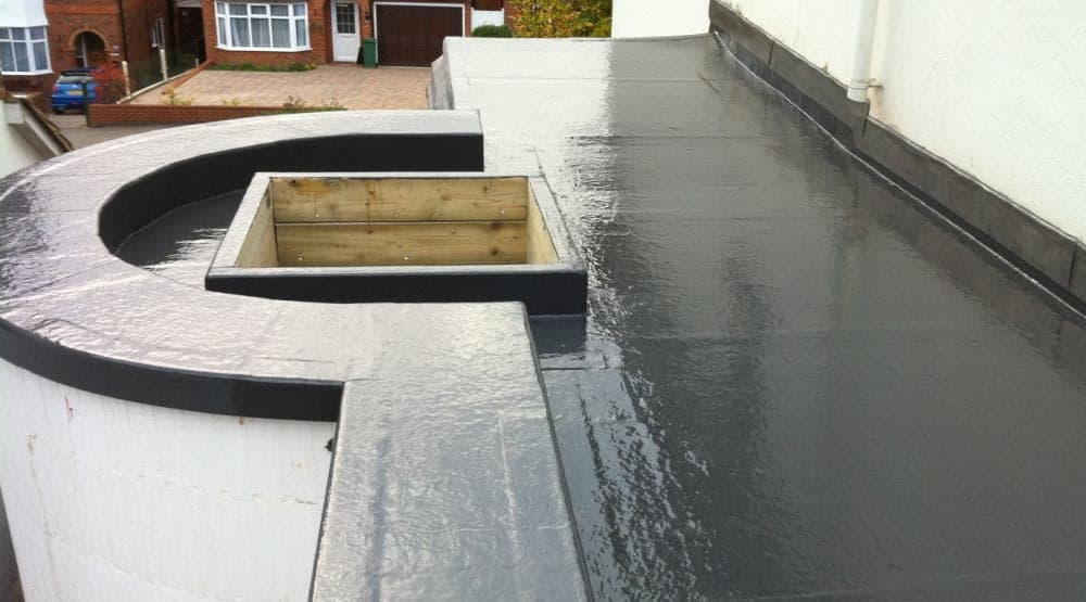 Domestic flat roof Redhill
