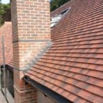 New pitched roof close-up Redhill