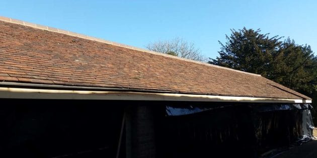 Crawley Roofer Reclaimed Tiles