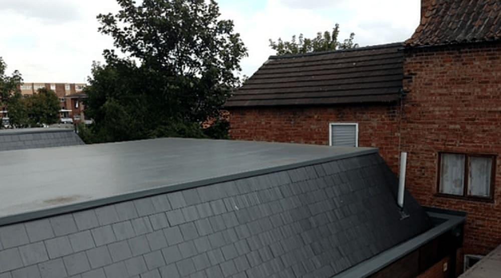 fibreglass roof Solihull