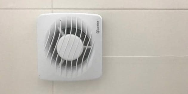 electric bathroom extractor fan