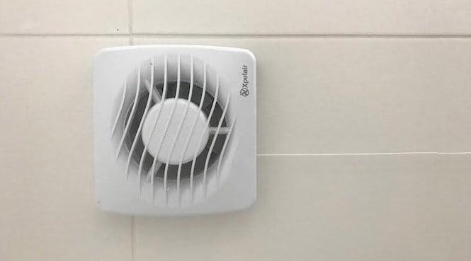 electric bathroom extractor fan
