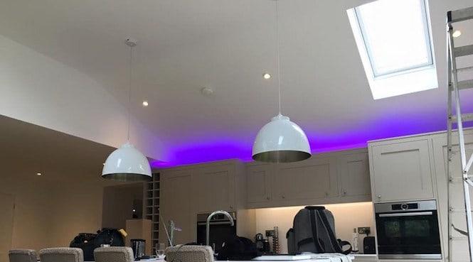 indoor lighting installations