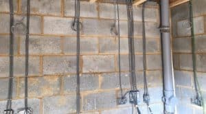 install indoor and outdoor sockets