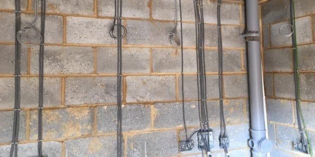 electric socket installations