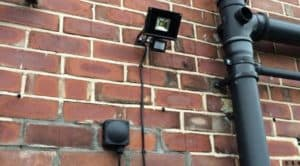 security lighting and cctv systems